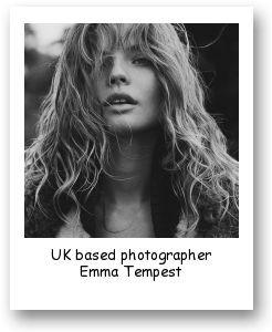 UK based photographer Emma Tempest