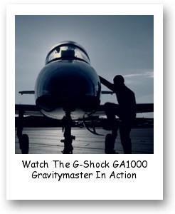 Watch The G-Shock GA1000 Gravitymaster In Action