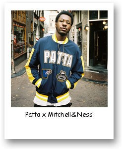 Patta x Mitchell & Ness