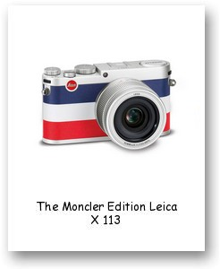 The Moncler Edition Leica X 113