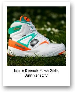 Titolo x Reebok Pump 25th Anniversary