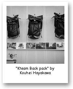 """""""Kteam Back pack"""" by Kouhei Hayakawa"""