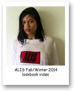 ALIS Fall/Winter 2014 lookbook video