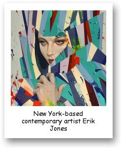 New York-based contemporary artist Erik Jones