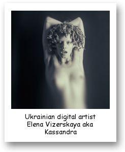 Ukrainian digital artist Elena Vizerskaya aka Kassandra