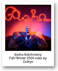 Gosha Rubchinskiy Fall/Winter 2014 video by Codryo