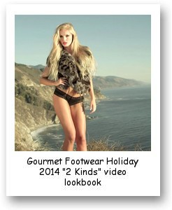 "Gourmet Footwear Holiday 2014 ""2 Kinds"" video lookbook"