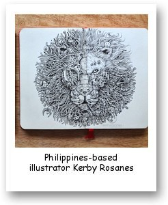 Philippines-based illustrator Kerby Rosanes