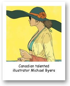 Canadian talented illustrator Michael Byers