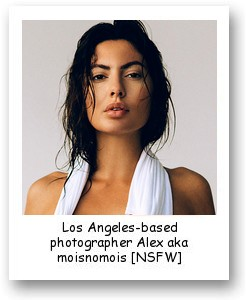 Los Angeles-based photographer Alex aka moisnomois