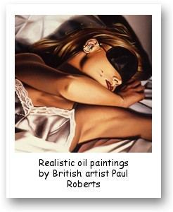 Realistic oil paintings by British artist Paul Roberts