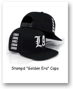 "Stampd ""Golden Era"" Caps"