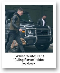 "Tackma Winter 2014 ""Ruling Forces"" video lookbook"