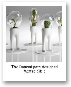 The Domsai pots designed Matteo Cibic