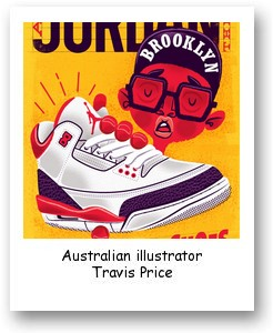 Australian illustrator Travis Price