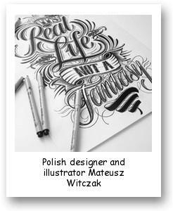 Polish designer and illustrator Mateusz Witczak