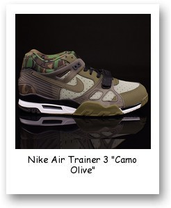 """Nike Air Trainer 3 """"Camo Olive"""""""