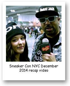 Sneaker Con NYC December 2014 recap video