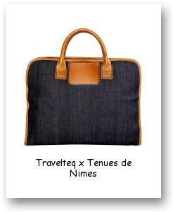Travelteq x Tenues de Nimes