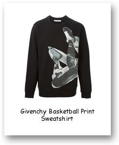Givenchy Basketball Print Sweatshirt