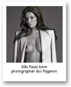 São Paulo born photographer Gui Paganini
