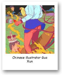 Chinese illustrator Guo Xun