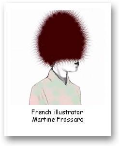 French illustrator Martine Frossard