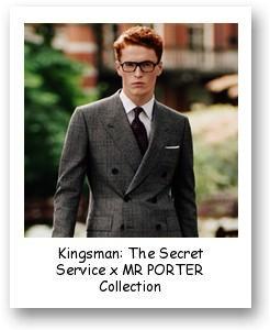Kingsman: The Secret Service x MR PORTER Collection