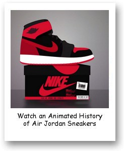 Animated History of Air Jordan Sneakers