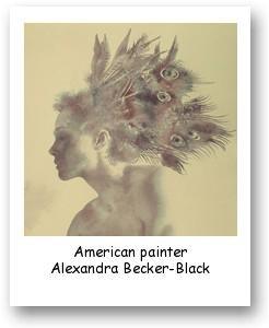 American painter Alexandra Becker-Black