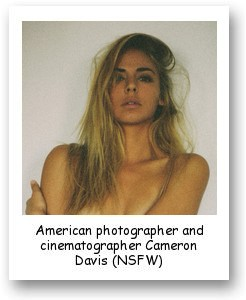 American photographer and cinematographer Cameron Davis