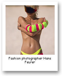 Fashion photographer Hans Feurer
