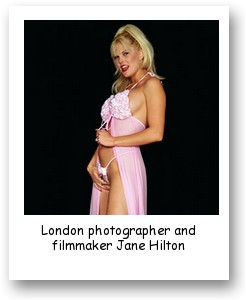 London photographer and filmmaker Jane Hilton