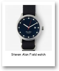 Steven Alan Field watch