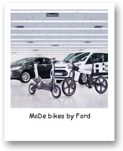 MoDe bikes by Ford