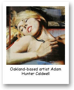 Oakland-based artist Adam Hunter Caldwell