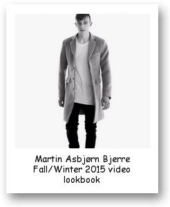Martin Asbjørn Bjerre Fall/Winter 2015 video lookbook