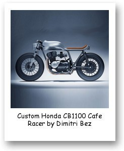 Custom Honda CB1100 Cafe Racer by Dimitri Bez