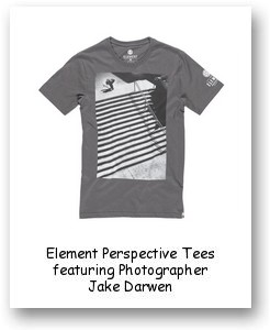 Element Perspective Tees featuring Photographer Jake Darwen