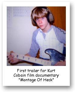 First trailer for Kurt Cobain film documentary