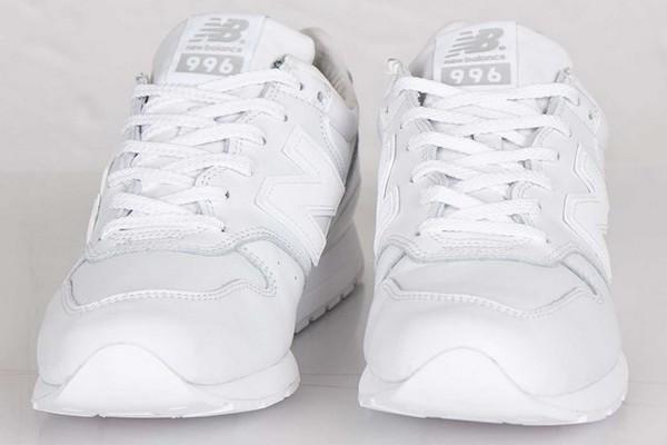 new balance cuir blanc femme