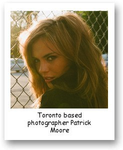 Toronto based photographer Patrick Moore