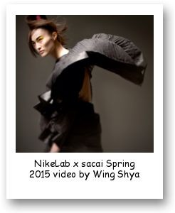 NikeLab x sacai Spring 2015 video by Wing Shya