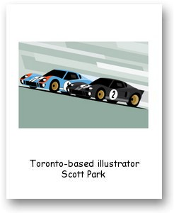 Toronto-based illustrator Scott Park
