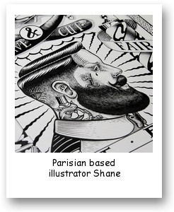 Parisian based illustrator Shane