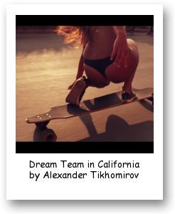 Dream Team in California by Alexander Tikhomirov