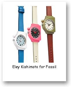Eley Kishimoto for Fossil