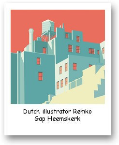 Dutch illustrator Remko Gap Heemskerk