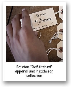 "Brixton ""ReStitched"" apparel and headwear collection"