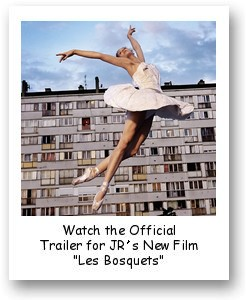 "Official Trailer for JR's New Film ""Les Bosquets"""